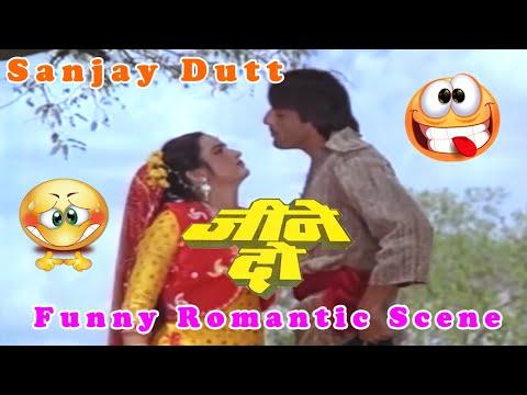 Sanjay Dutt Funny Romantic Scene   Jeene Do Hindi Movie