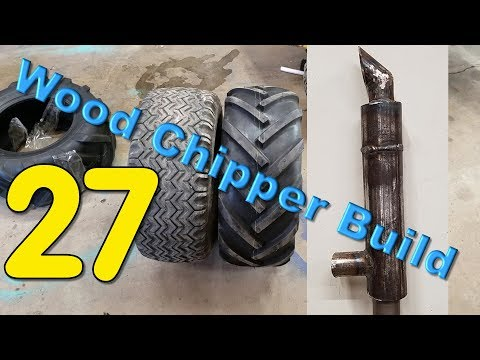 Tired. Exhausted. Rest.  (Episode 27 - Wood Chipper Build)