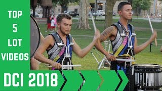 Top 5 DCI Lot Videos Of 2018 [quality audio]