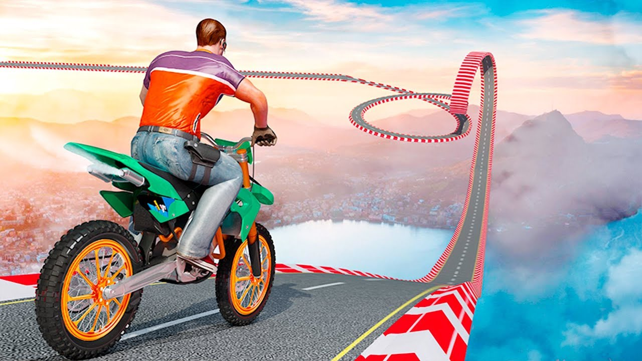 Bike Games Tricks Trail Stunt Master Impossible Tracks Circuit Racer2 3d Speed Racing Android Apps On Google Play Gameplay Free