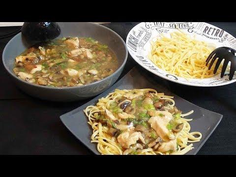 poulet-sauce-aux-champignons-rapide-et-facile-sauce-crémeuse-et-légère-sans-crème-fraiche