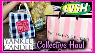 Lush, Victoria's Secret / PINK, BBW, & Yankee Candle Collective SAS Haul
