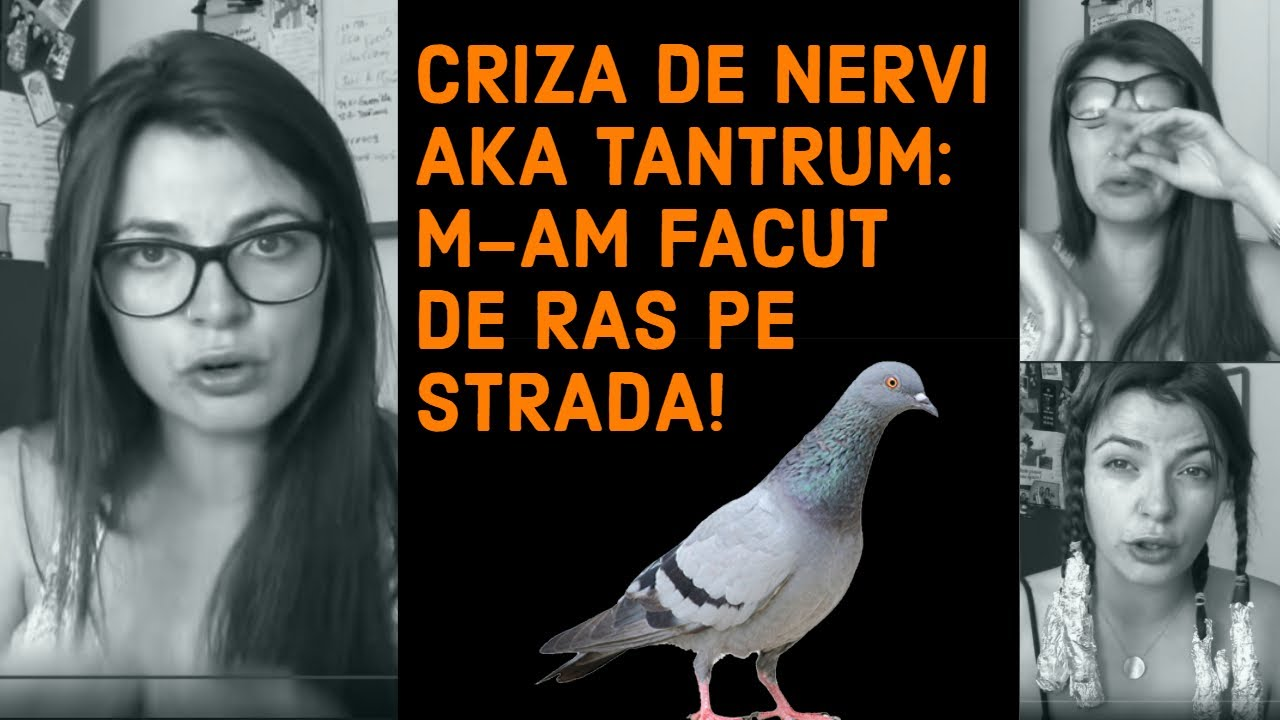 CRIZA DE NERVI AKA TANTRUM! M-AM FACUT DE RAS PE STRADA!