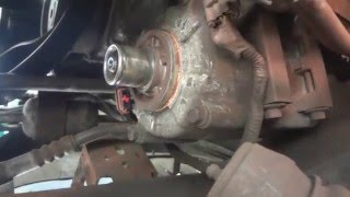 How to replace the compressor pulley on a 1997 F-150