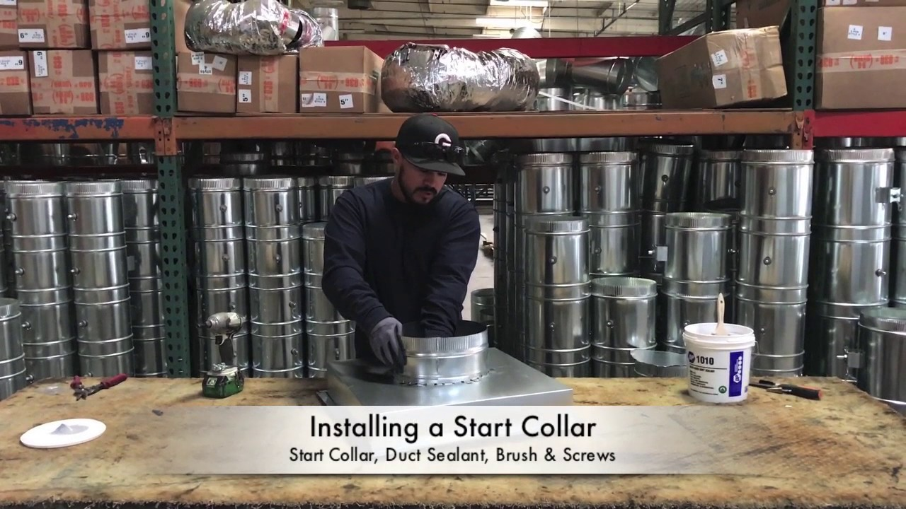 How-To Install a Start Collar - The Duct Shop
