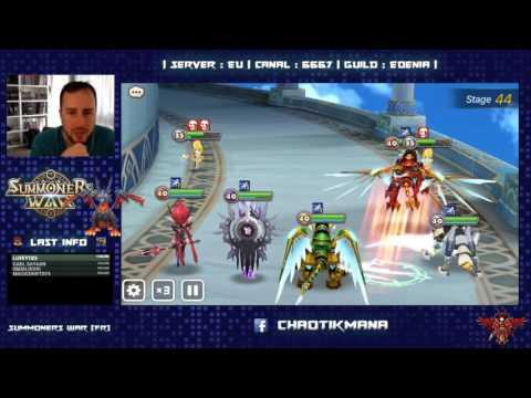 Summoners War - Live 26.01 - TOA normal 40-100 team farmable
