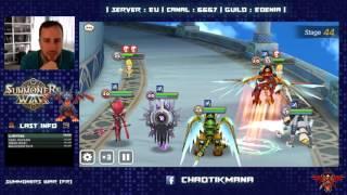 summoners war live 26 01 toa normal 40 100 team farmable