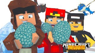 Minecraft DRAGONS - GETTING OUR NEW FRIENDS DRAGON EGGS BACK!
