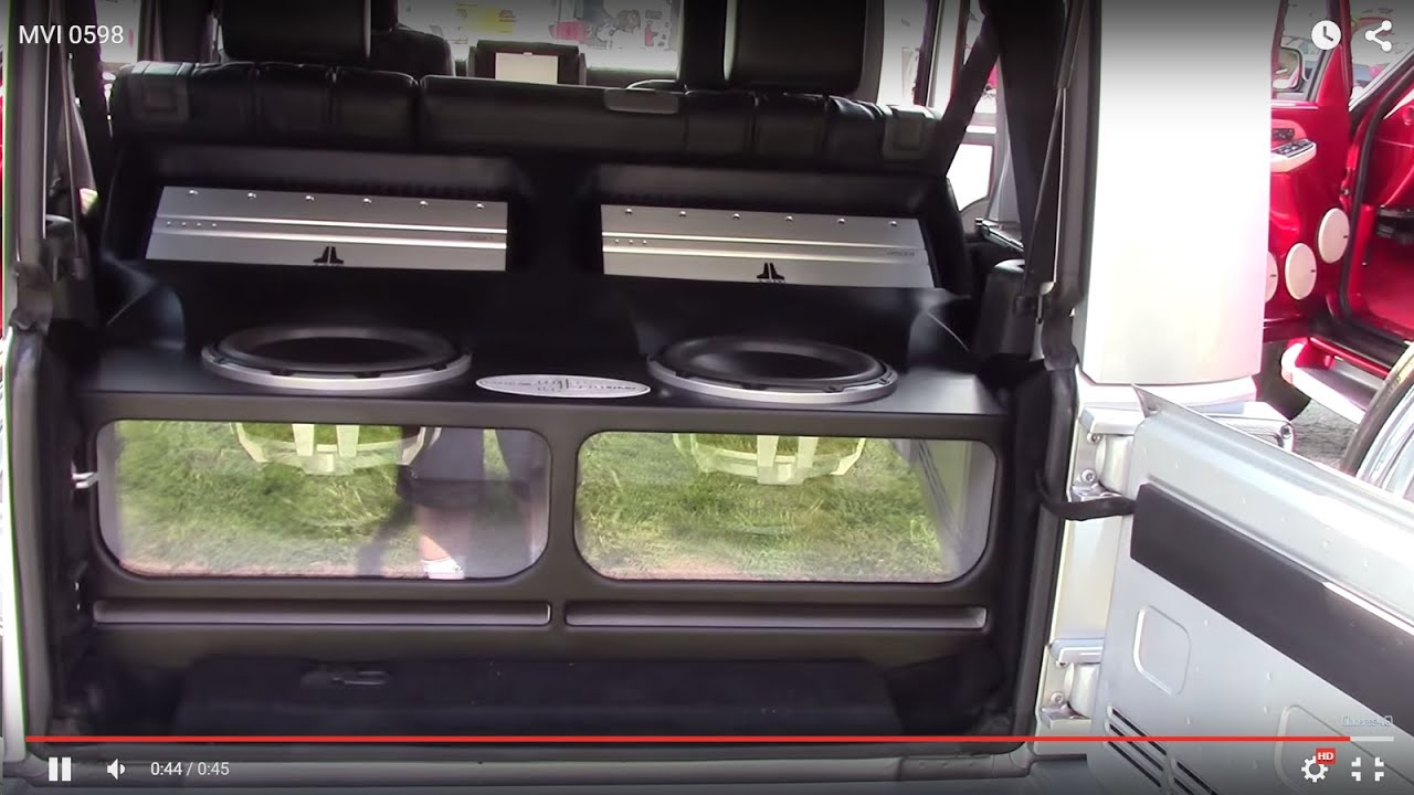 Super Clean Jl Audio System In A Jeep Youtube