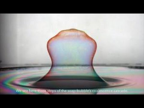The Merger of a Bubble and a Soap Film