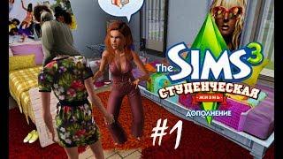 The Sims 3 Студенческая жизнь #1 Переполох в общаге