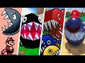 Super Mario Evolution of Chain Chomp (1988 - 2017)