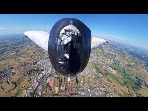 Saut en wingsuit vidéo 360°