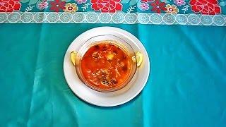 تحضيرشوربة السمك - شوربة الحوت  سهلة وصحية  المطبخ التونسي :soupe de poisson - Tunisian Cuisine