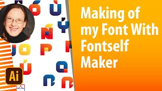 Making of my font »GeometricColor« with Fontself and Illustrator