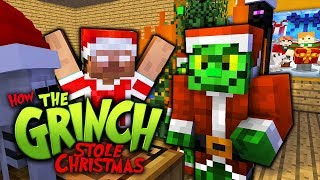 Monster School : HOW THE GRINCH STOLE CHRISTMAS  - Minecraft Animation