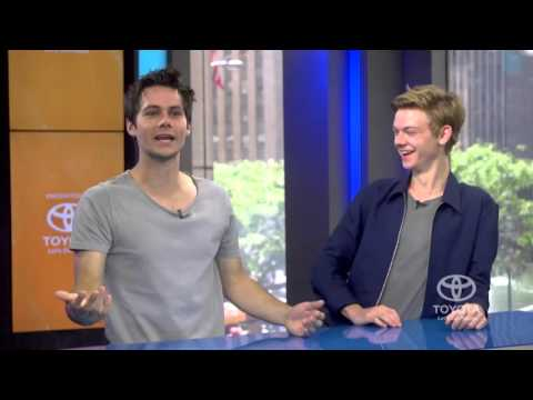 Dylan O'Brien & Thomas BrodieSangster  the Test with a Trial of Our Own
