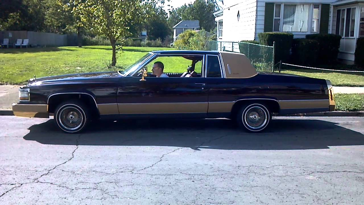 My Cadillac lowrider pt 2 - YouTube