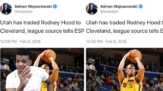 RODNEY HOOD & GEORGE HILL TRADED TO THE CAVS FOR DERRICK ROSE & JAE CROWDER ! DWAYNE WADE TO MIAMI !