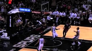Ray Allen dunks for Miami at age 38