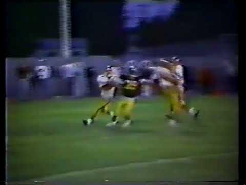 Gibbon Fairfax Winthrop Thunderbird Football 1989 Highlights