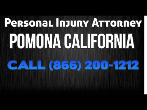 Pomona Ca Car Accident Law Firm - Auto Accident - Personal Injury - Truck Accident