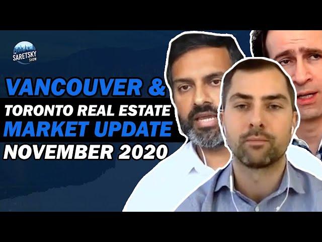 Vancouver & Toronto Real Estate Market Update November 2020