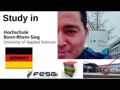 Study In Bonn-Rhein-Sieg University - Germany