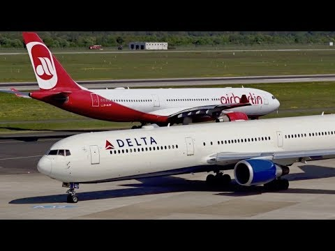Connecting Düsseldorf Airport with the world | Widebody aircraft at DUS | A380, A350, B777, B767
