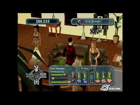 Playboy: The Mansion PlayStation 2 Gameplay_2005_01_19