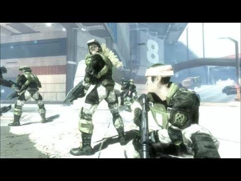 Halo 3: ODST - Saving All The Marines On Tayari Plaza