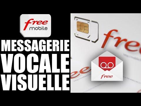comment activer la messagerie vocale free mobile