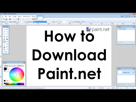 How To Download Paint.net (Freeware Similar To Photoshop)