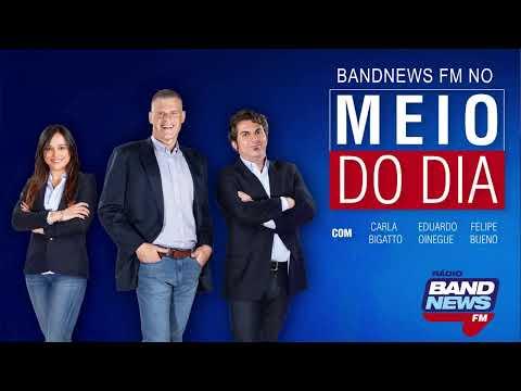 BandNews FM No Meio Do Dia - 18/07/2019