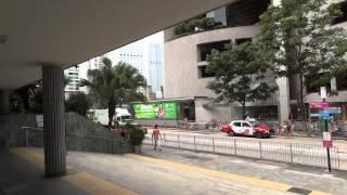 香港(セントラル)中環駅周辺を駅まで歩いてみる