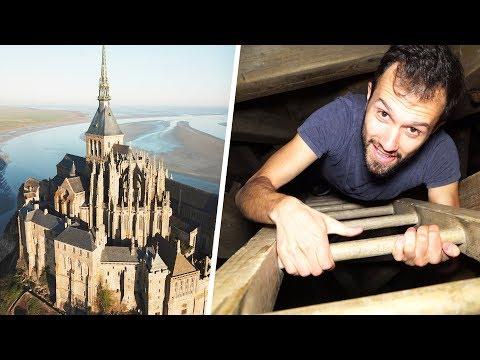 Dans les passages secrets du Mont-Saint-Michel !