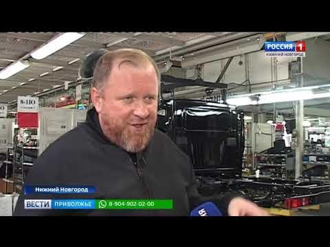 Российский шеф-повар Константин Ивлев посетил Горьковский автозавод
