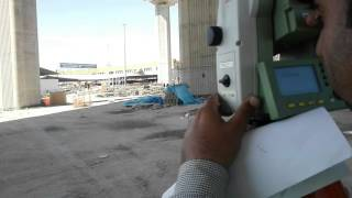How to Mark a Complete circle with Total Station ( Reference Arc video 1) in Urdu/Hindi