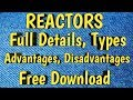 REACTORS Full Details Types Advantages Disadvantages In Pharma Material Free Download | Pharma Guide