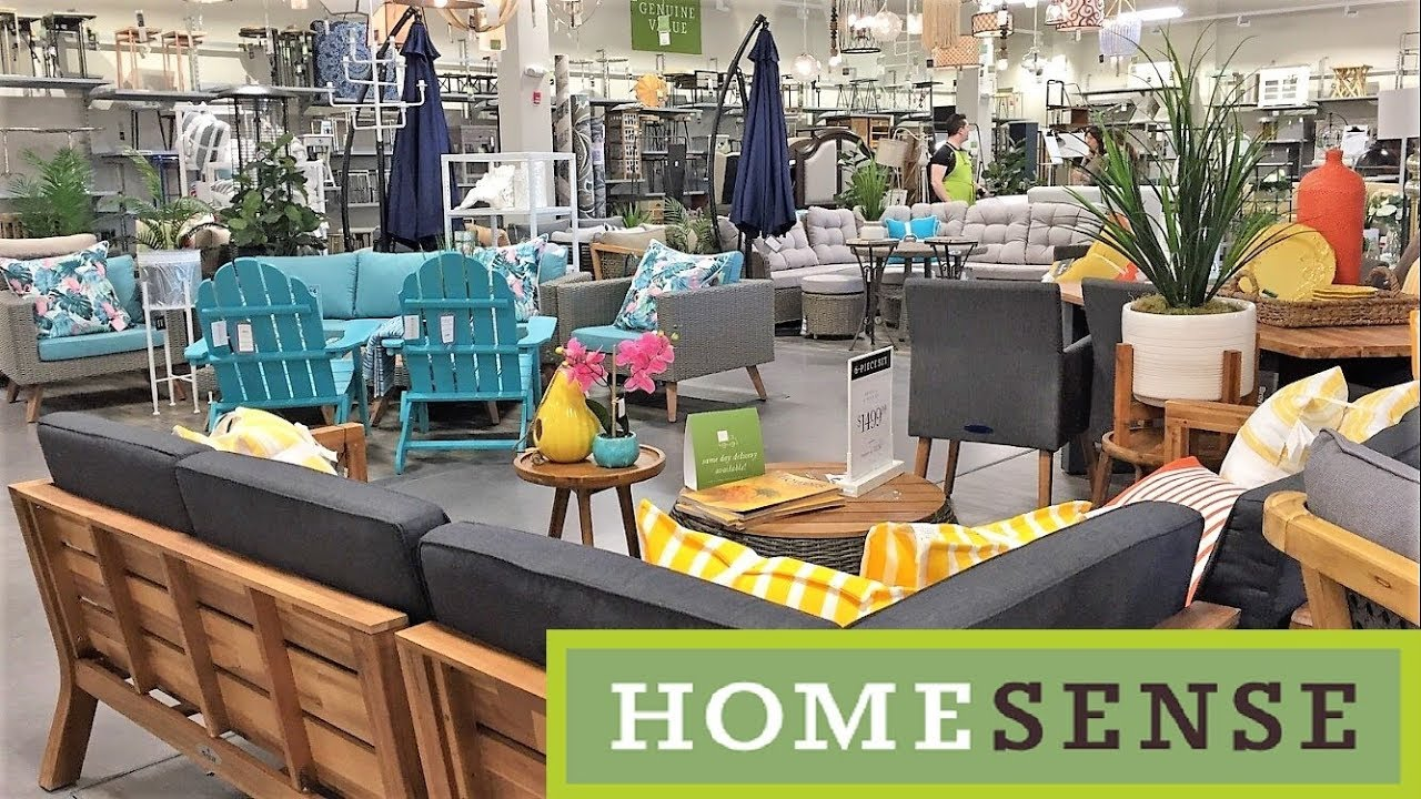 YouTube & HOME SENSE PATIO FURNITURE BISTRO SETS SUMMER HOME DECOR SHOP WITH ME SHOPPING STORE WALK THROUGH 4K