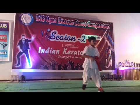Indian karate  club  sujangarh  moon light cinema hall