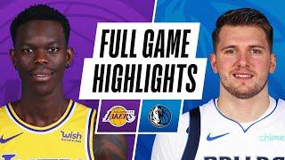 GAME RECAP: Mavericks 115, Lakers 110