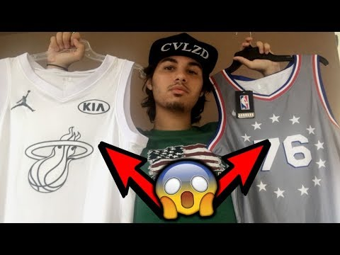 UNBOXING CHEAP NIKE NBA JERSEYS FROM CHINA!