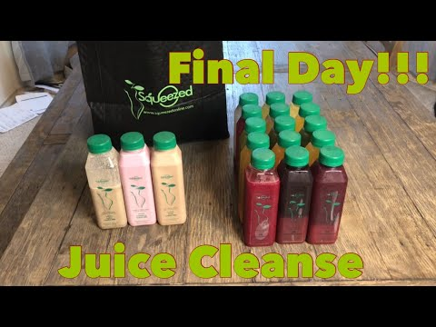 Squeezed Juice Cleanse Day 3/Final Results