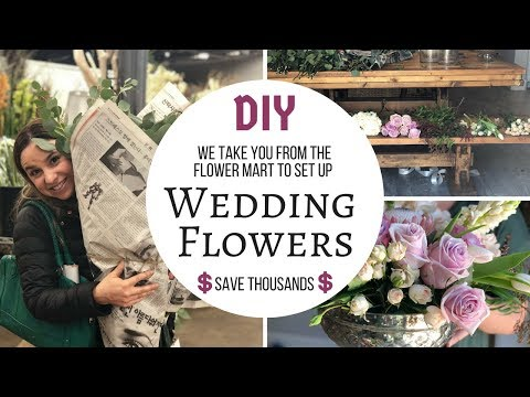 How To Do Your Own Wedding Flowers For Under $200
