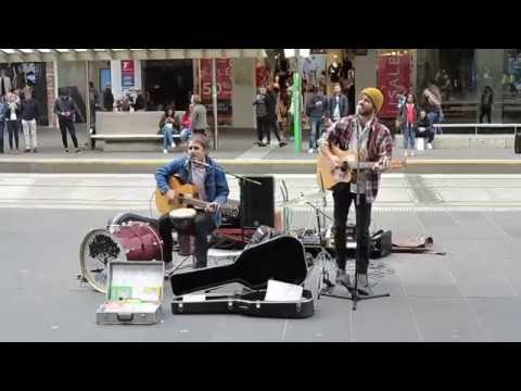 Barely Standing - Bourke Street Mall (5)