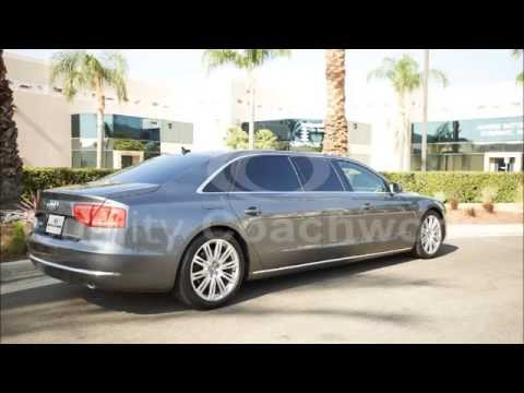 2014 audi a8 l 30 stretch limousine limo by quality coachworks youtube. Black Bedroom Furniture Sets. Home Design Ideas