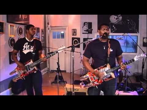 Homemade Jamz Blues Band - 'Burned Down The House' (Sun Studio Sessions)