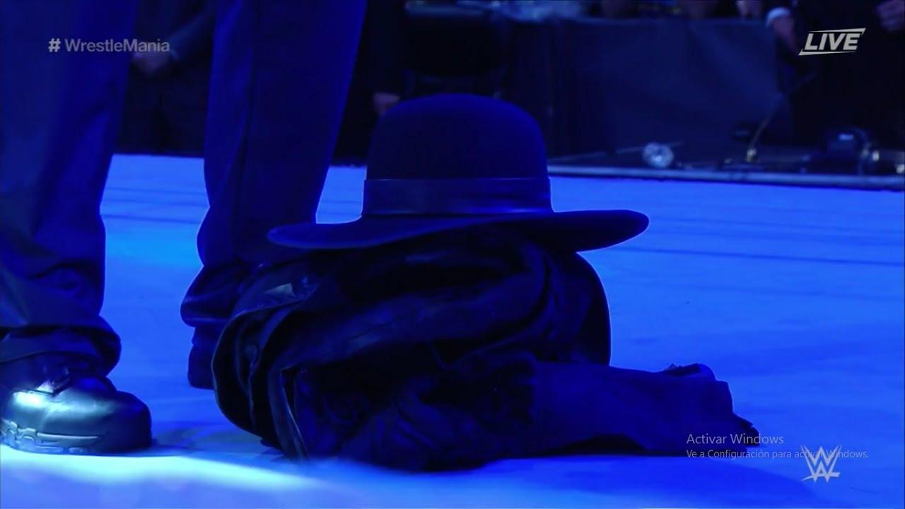 Resultado de imagen para wwe wm 33 the undertaker retiro