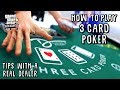AWESOME WINNING SESSION ON 3 CARD POKER!! BETTING UP TO ...